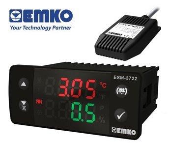 Emko 3722 Isı-Nem ve Çevirme Kontrol Cihazı